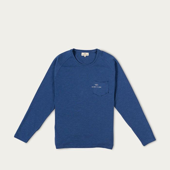 Royal Blue Essential Longsleeve  | Bombinate