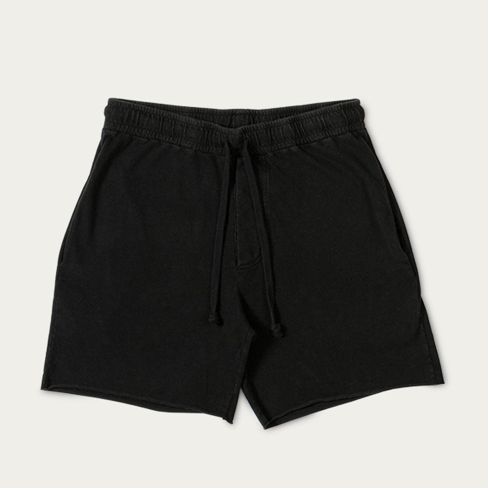Vintage Black Essential Walkshorts  | Bombinate