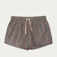 Faial Shortest Printed Swimming Trunks | Bombinate