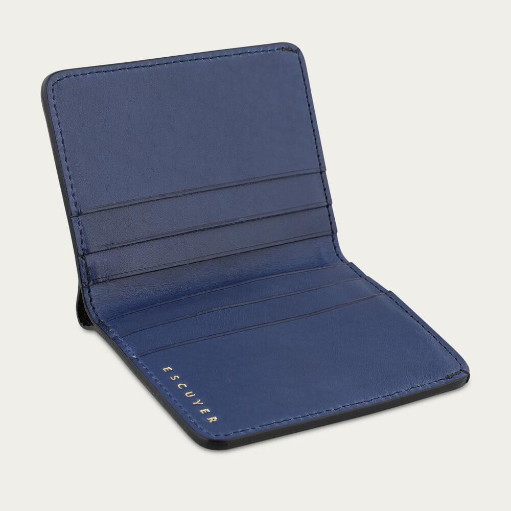 Blue Slim Wallet  | Bombinate