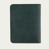 Grained Green Slim Wallet | Bombinate