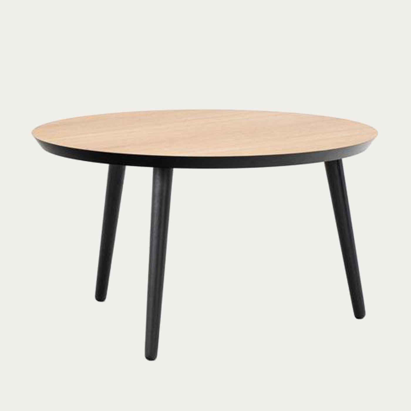 Oak & Black WW Coffee Table | Bombinate