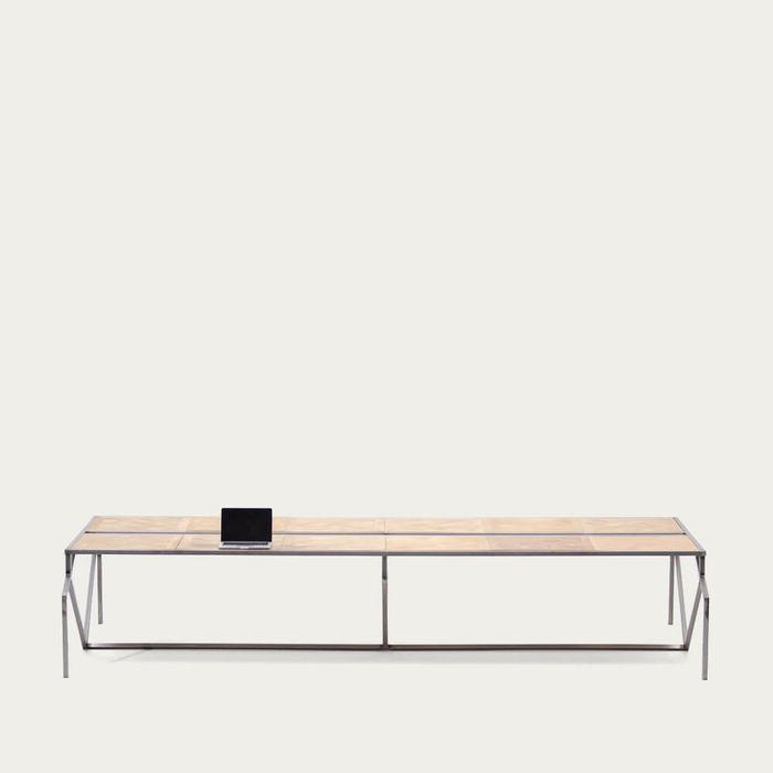 Steel Florence Parquet Oum Desk | Bombinate