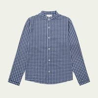 Navy Cross Cotton Striped Shirt    Bombinate
