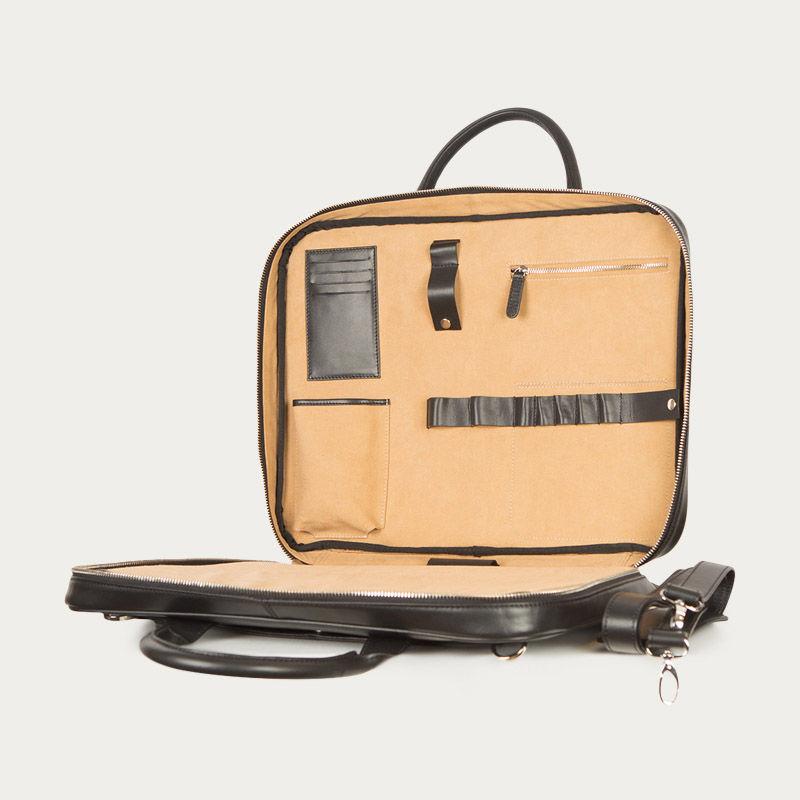 Briefcase Black Ink | Bombinate