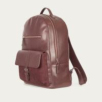Burgundy Backpack  1