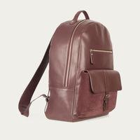 Burgundy Backpack  | Bombinate