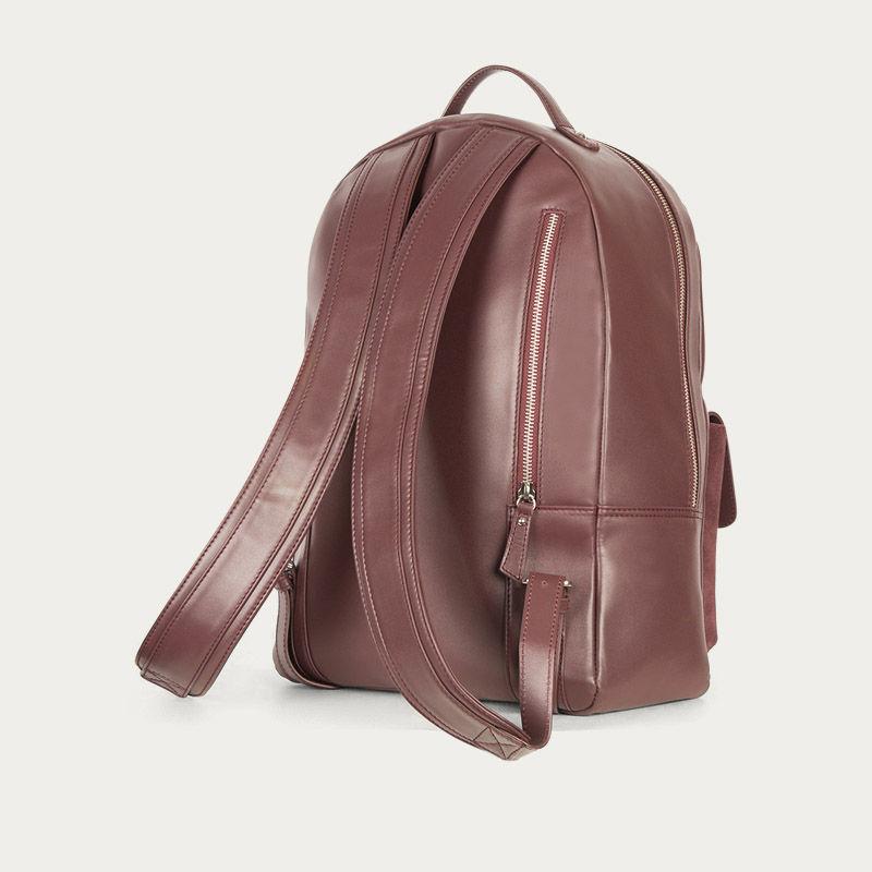 Burgundy Backpack  3