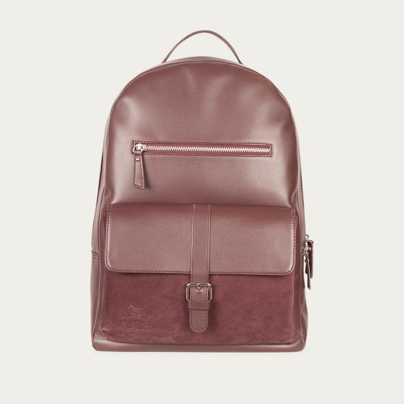Burgundy Backpack  0
