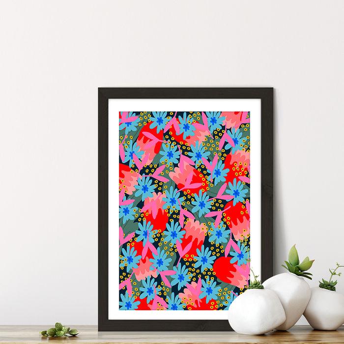 Simple Truth Art Print Black Frame | Bombinate