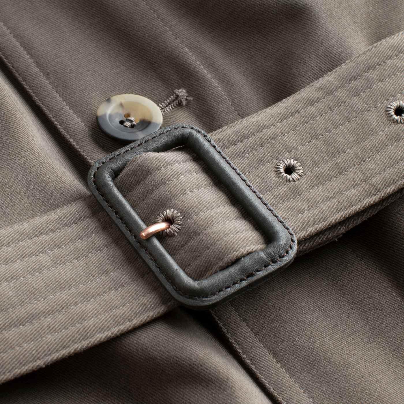 The Mocha Belted Safari Jacket    Bombinate