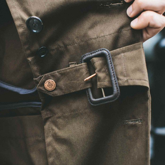 The Permanent Style Ventile Despatch Trench Coat | Bombinate