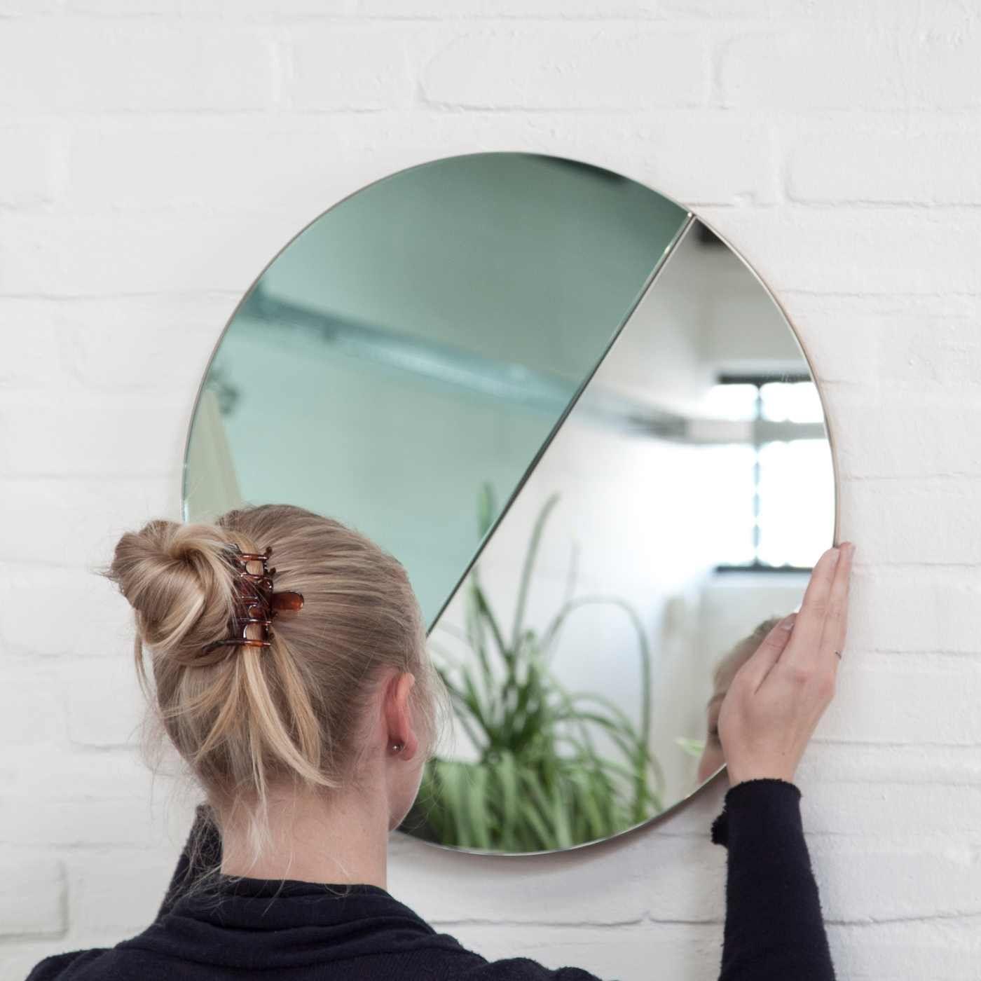 Spring Moonrise Mirror   Bombinate