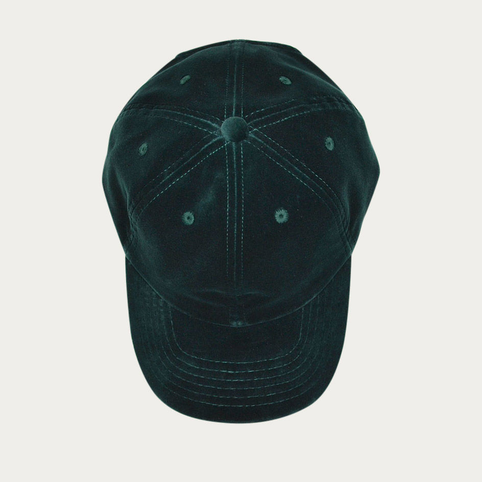 Green Velvet Cap | Bombinate