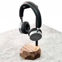 Walnut Headphone Stand | Bombinate