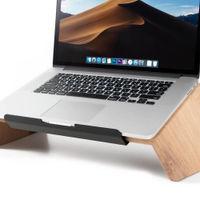Oak Wooden Laptop Stand | Bombinate