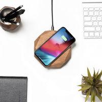 Oak QI Wireless Charger | Bombinate
