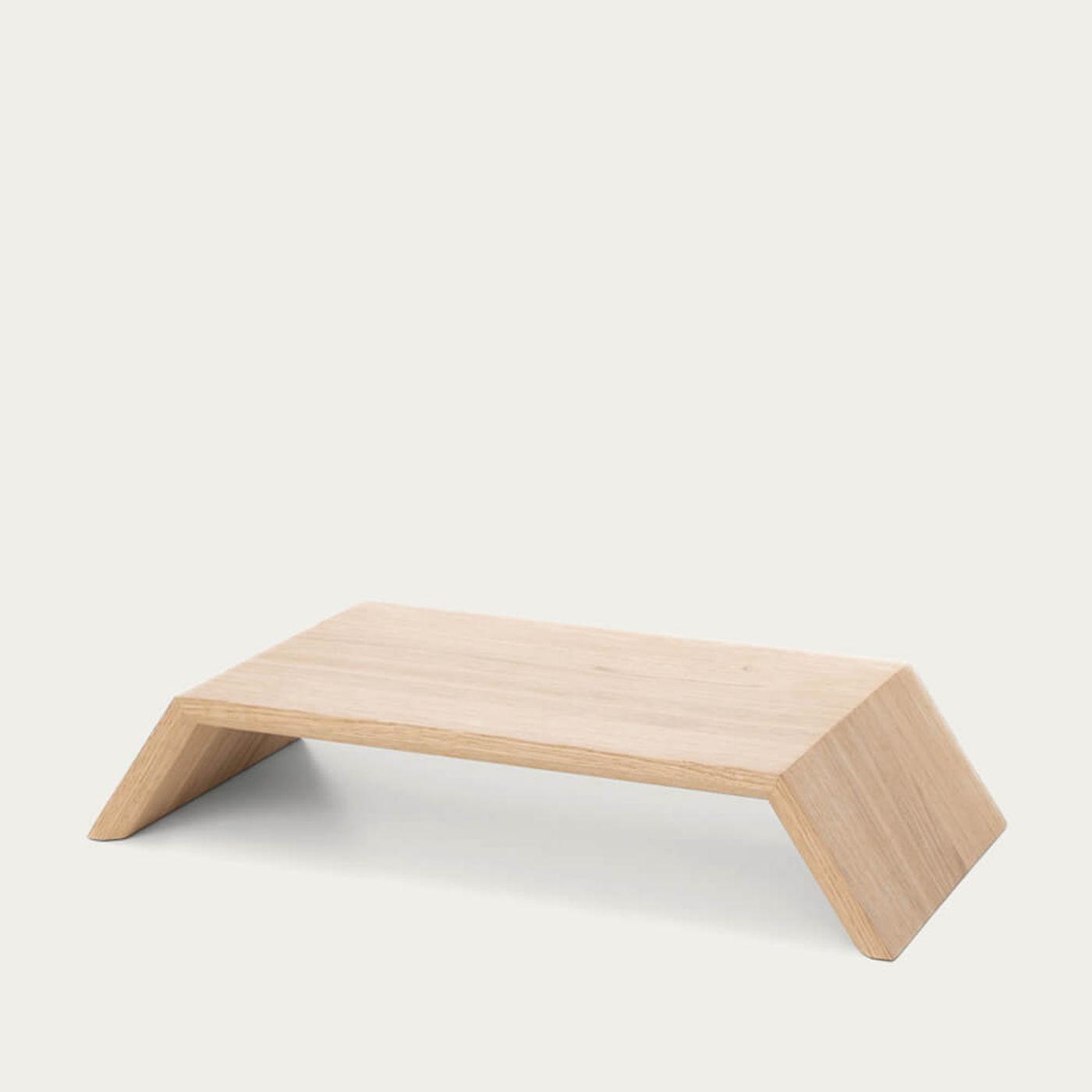 Oak Wooden Monitor Stand   Bombinate