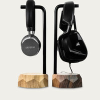 Oak Headphone Stand | Bombinate