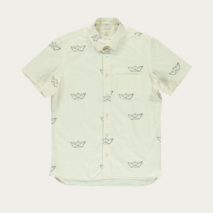 Paper Boat Alegre Shirt  | Bombinate