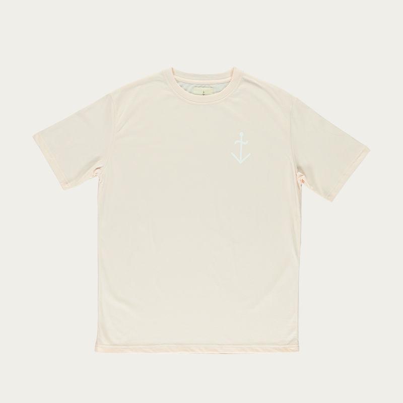 Old Rose White Logo Dantas Tee-shirt  | Bombinate