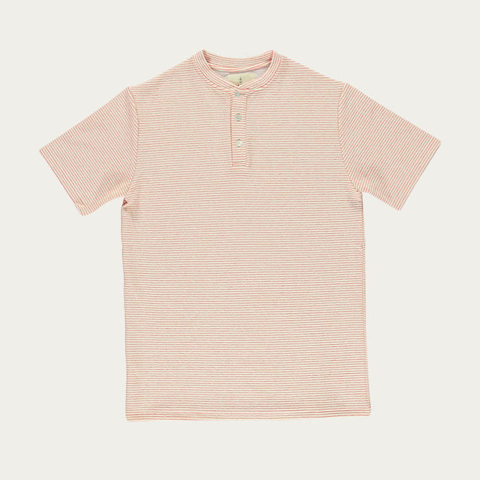 Coral Stripes Ribas Tee-shirt  | Bombinate