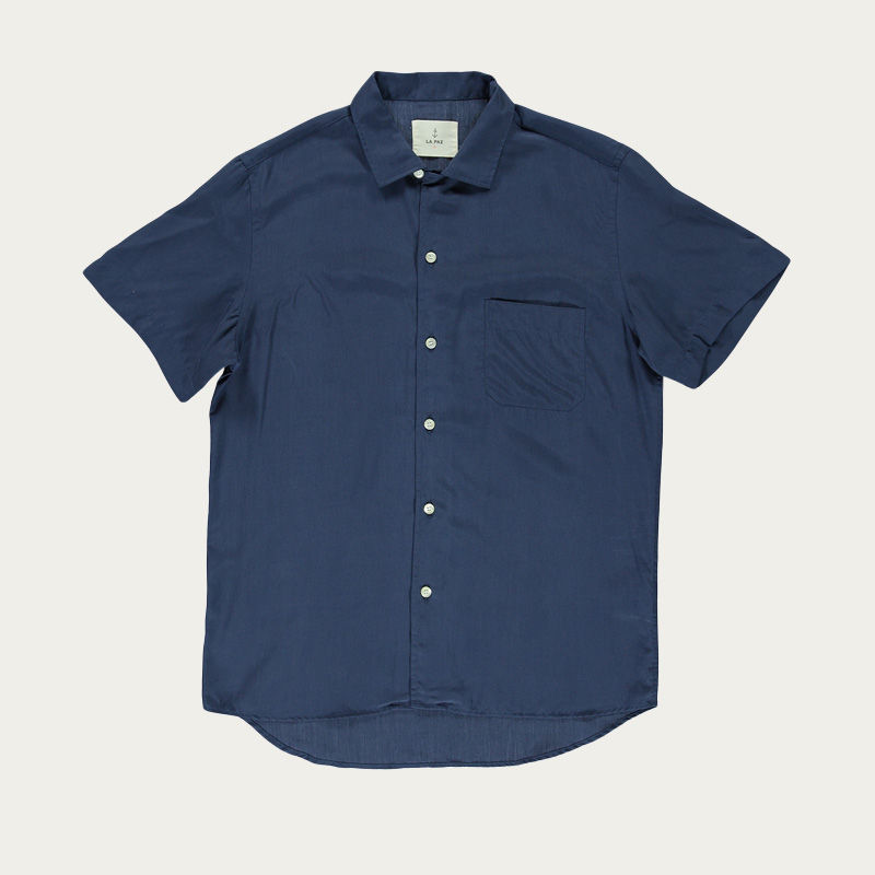 Navy Silveira Shirt  | Bombinate