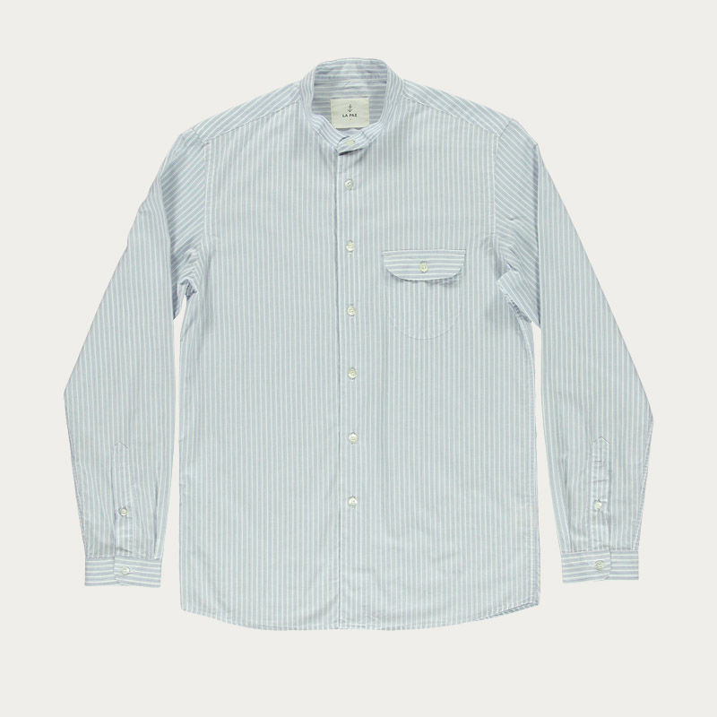 Blue Stripes Vieira Shirt | Bombinate