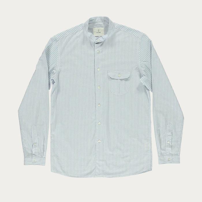 Blue Stripes Vieira Shirt | Bombinate