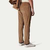 Natural/Beige Raval Trousers in Cotton Corduroy | Bombinate