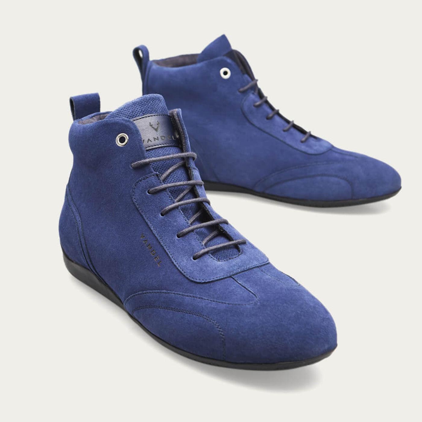 Blue Iconic Medium Shoes | Bombinate