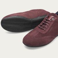 Burgundy Iconic Low Shoes   Bombinate