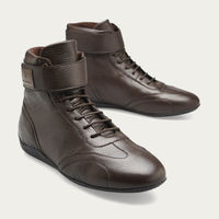 Brown Leather Iconic High Shoes | Bombinate