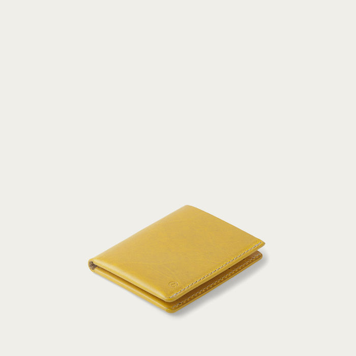 Spicy Mustard Ultra Slim Wallet Jamaica  | Bombinate