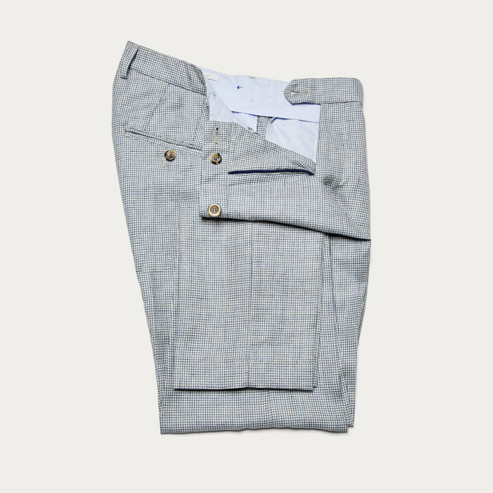 Avio Raval Trousers in Wool and Linen   Bombinate