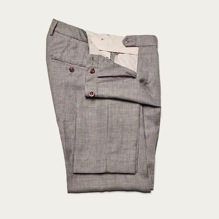 Moro Raval Trousers in Wool and Linen | Bombinate