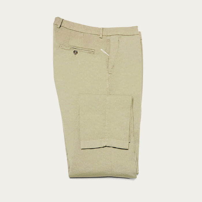 Salvia New Town Trousers in Cotton | Bombinate