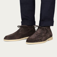 Chocolate Suede Desert Boot | Bombinate