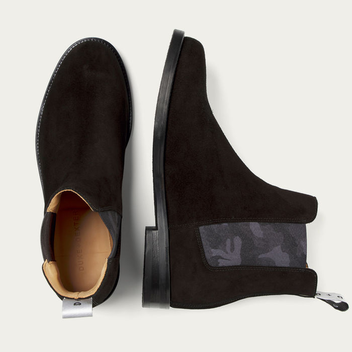 Camo Stealth Woolf Chelsea Boot | Bombinate