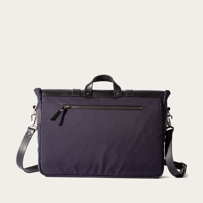 Navy Portland Messenger Bag | Bombinate