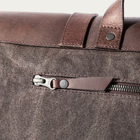 Brown Wax Portland Messenger Bag | Bombinate
