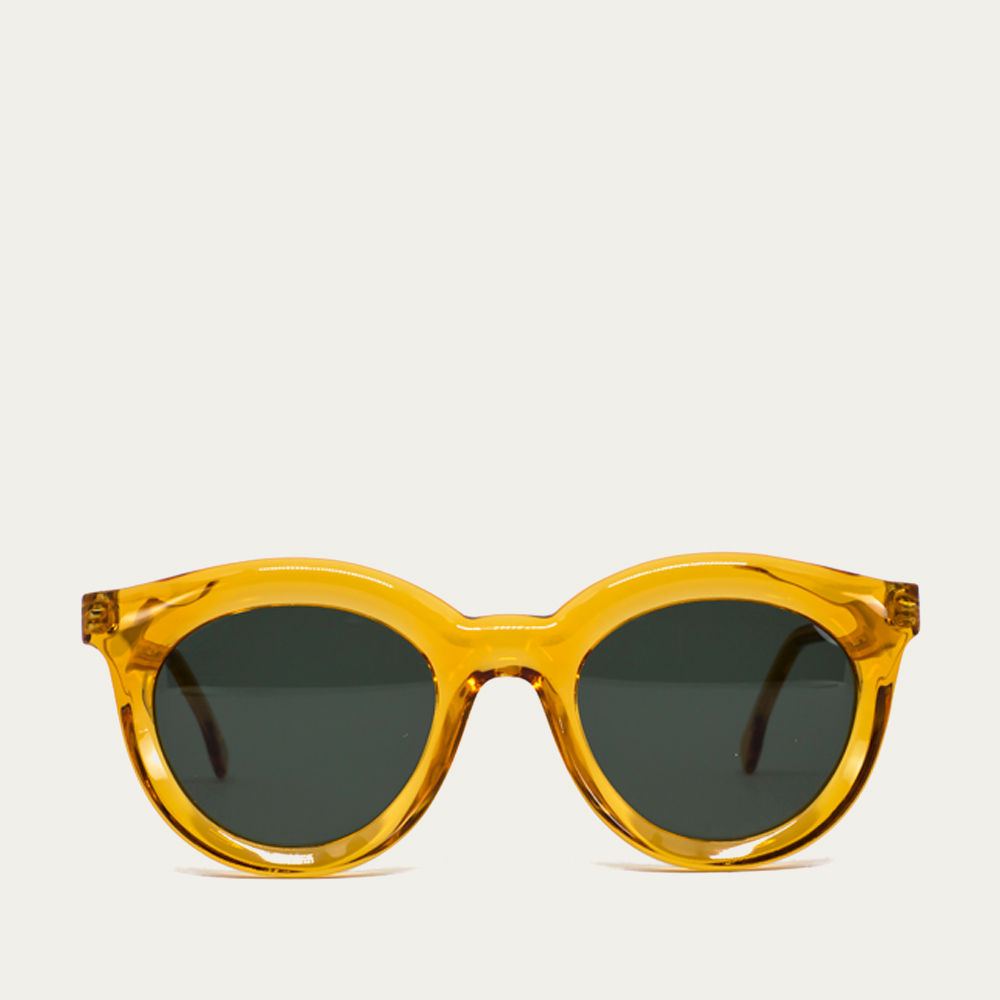 Orange Vivid Sunglasses | Bombinate