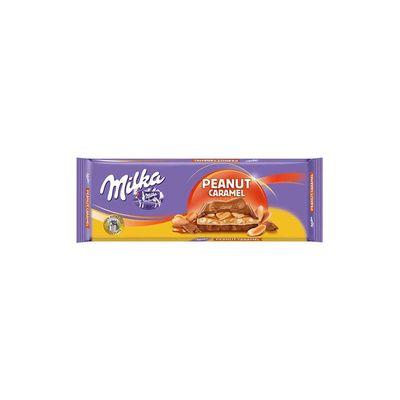 Milka Peanut Caramel Tablet