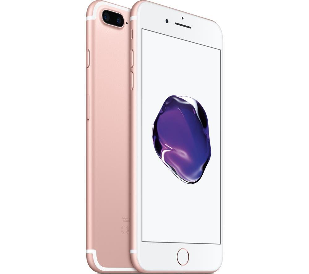 Apple iPhone 7 Plus (5.5 inch) 128GB Smartphone (Rose Gold) REFURBISHED