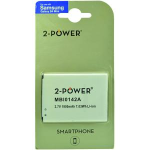 2-Power Smartphone Battery 3.7V (1900mAh)