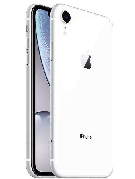 Apple iPhone XR (6.1 inch) 128GB Smartphone (White)