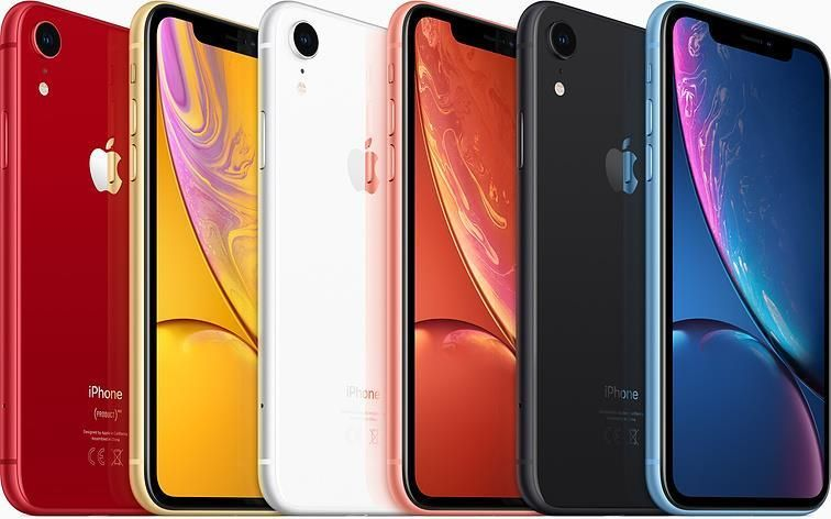 Apple iPhone XR (6.1 inch) 64GB Smartphone (White)