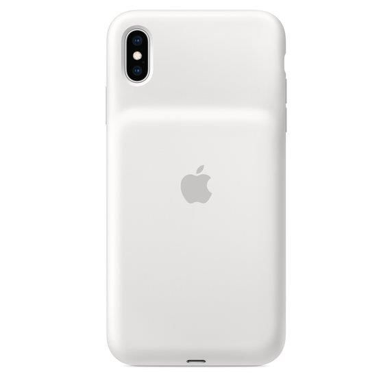 Apple Smart Battery Case (White) for iPhone XS MAX