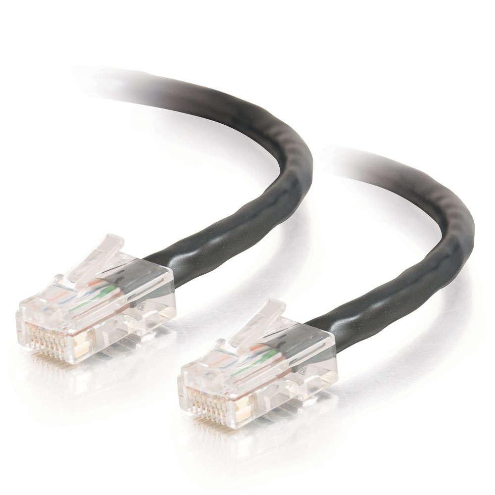 C2G (0.5m) Cat5e RJ-45 Network Cable (Black)