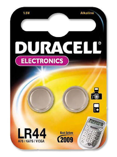 Duracell Alkaline Battery for Calculator or Pager 1.5V (Pack of 2)